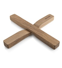 Eva Solo - Magnetic Trivet 2 pcs - Oak (530742)