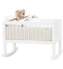 Hoppekids - Cradle / Bench - White