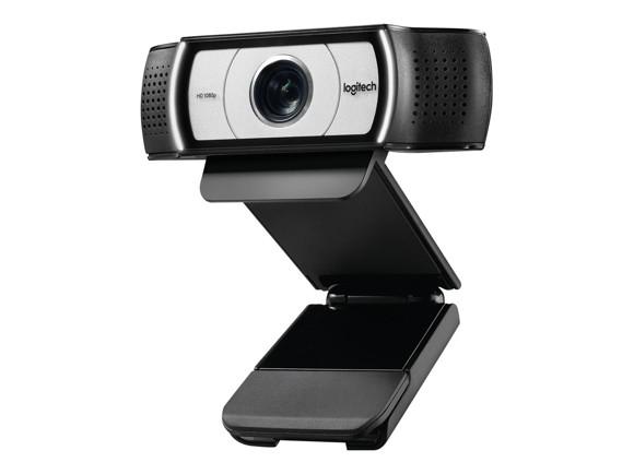 Logitech C930e 1080p Business Webcam USB Black