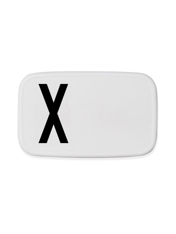 Design Letters - Personal Lunch Box - X