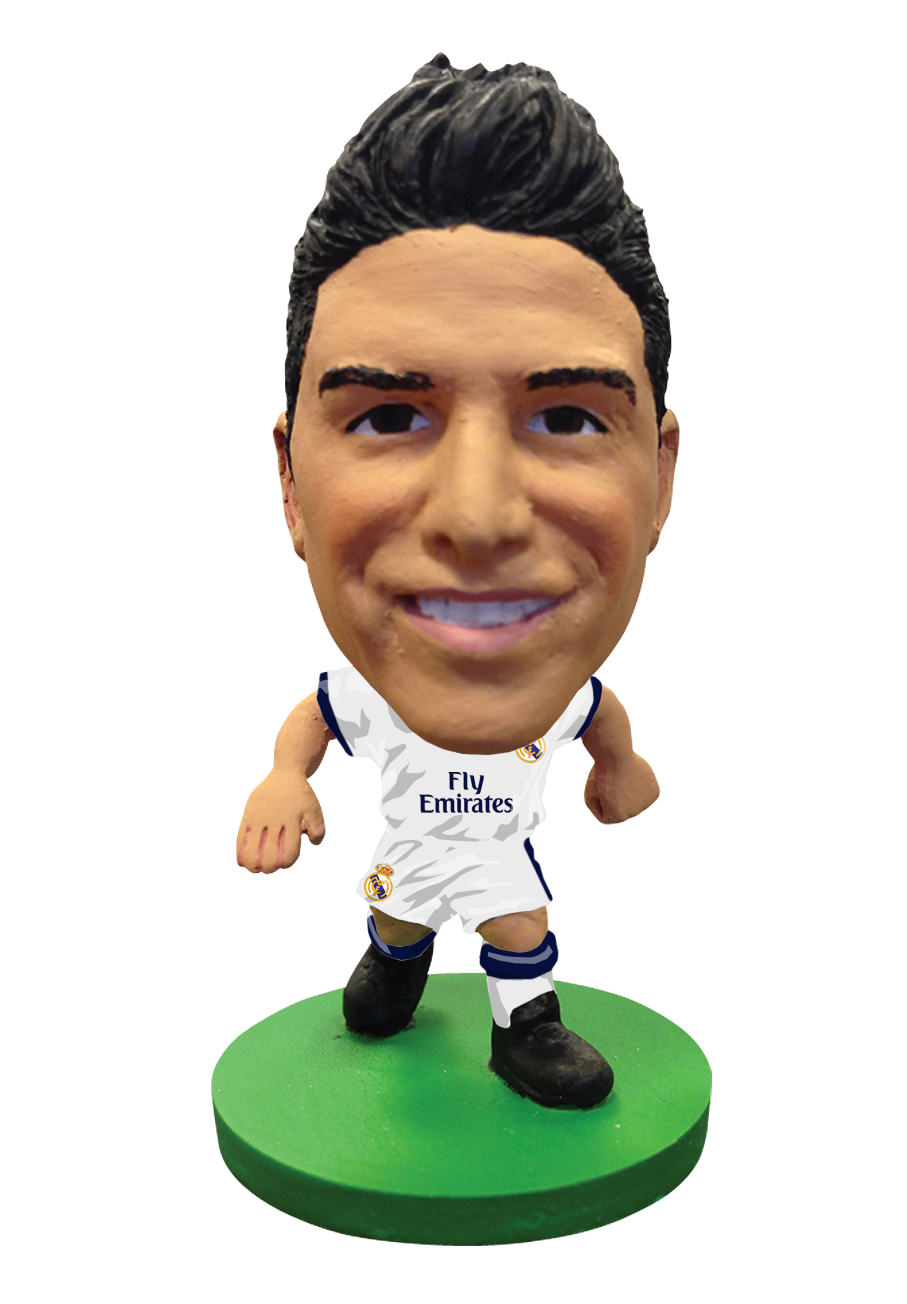 Buy Soccerstarz Real Madrid James Rodriguez Home Kit 2017