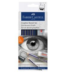 Faber-Castell - Goldfaber Studio Sketch Sæt (114000)