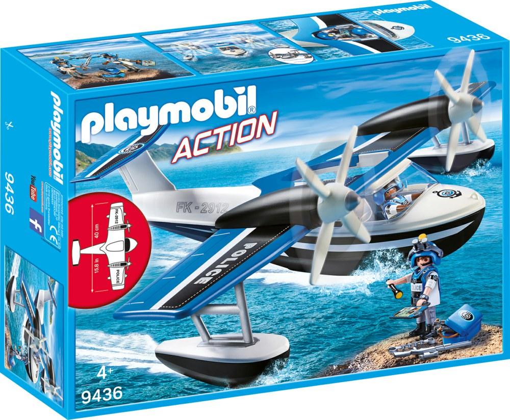 Playmobil - Police Seaplane (9436)