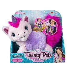 Twisty Petz - Cuddlez Plys Bamse - Snowpuff Unicorn