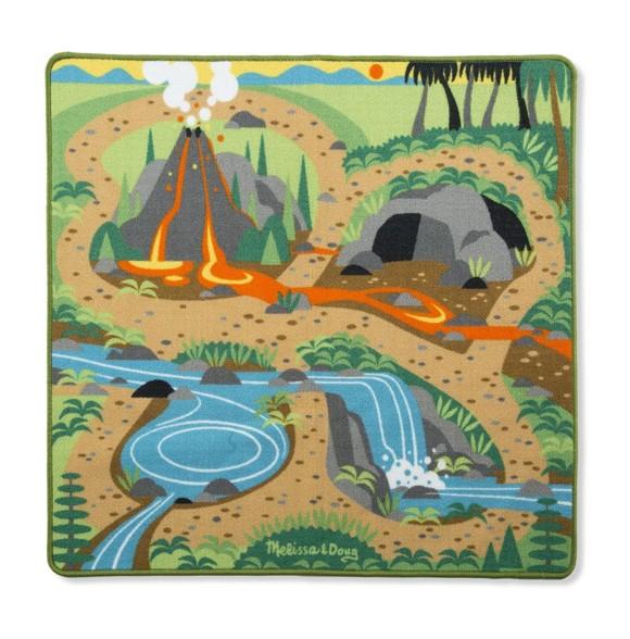 Melissa & Doug - Rug - Prehistoric Playground Dinosaur (19427)