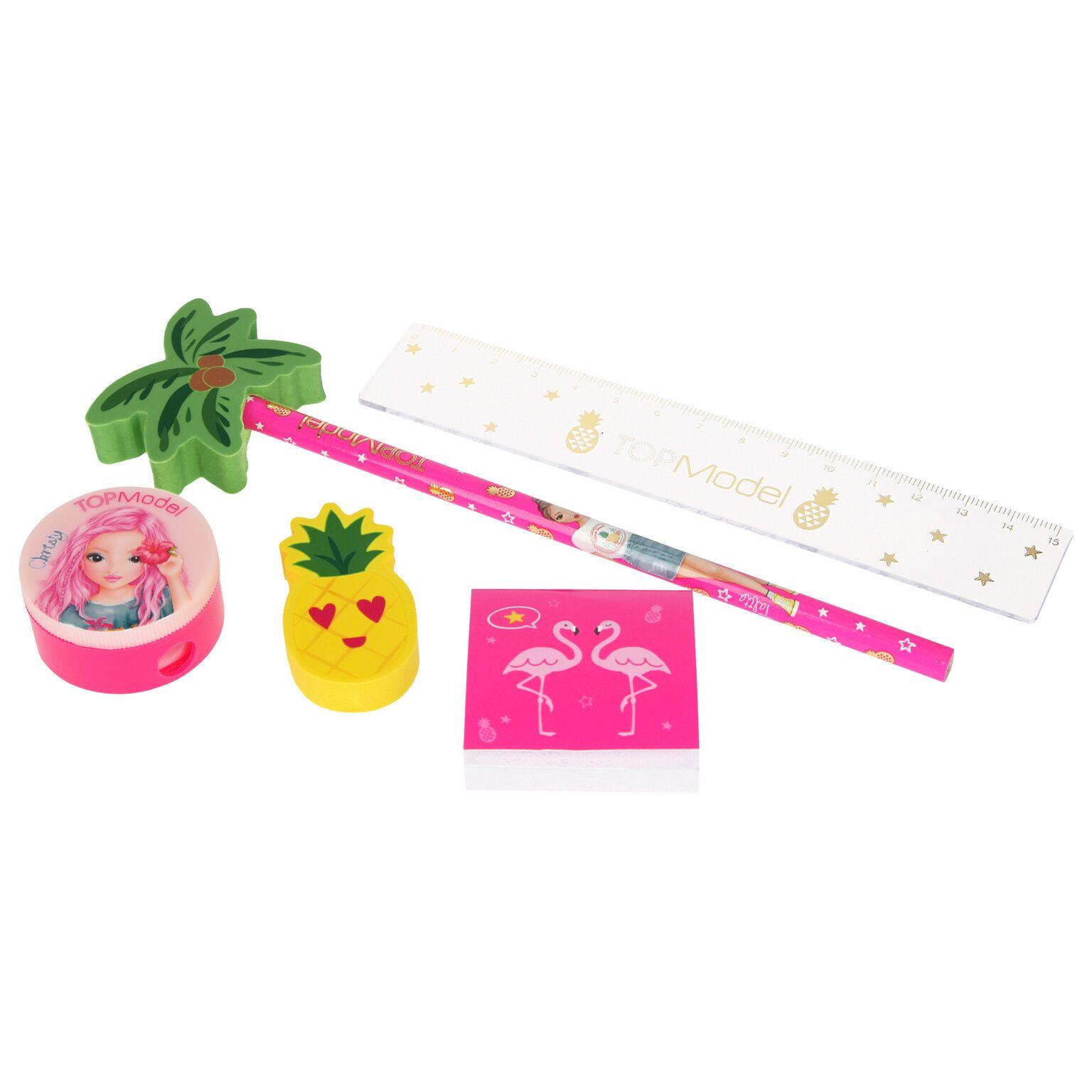 Top Model - Pencil Set - Flamingo (048439)