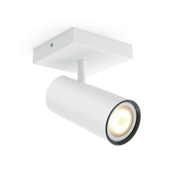 zzPhilips Hue - Buratto Single Spot Without Remote White - E