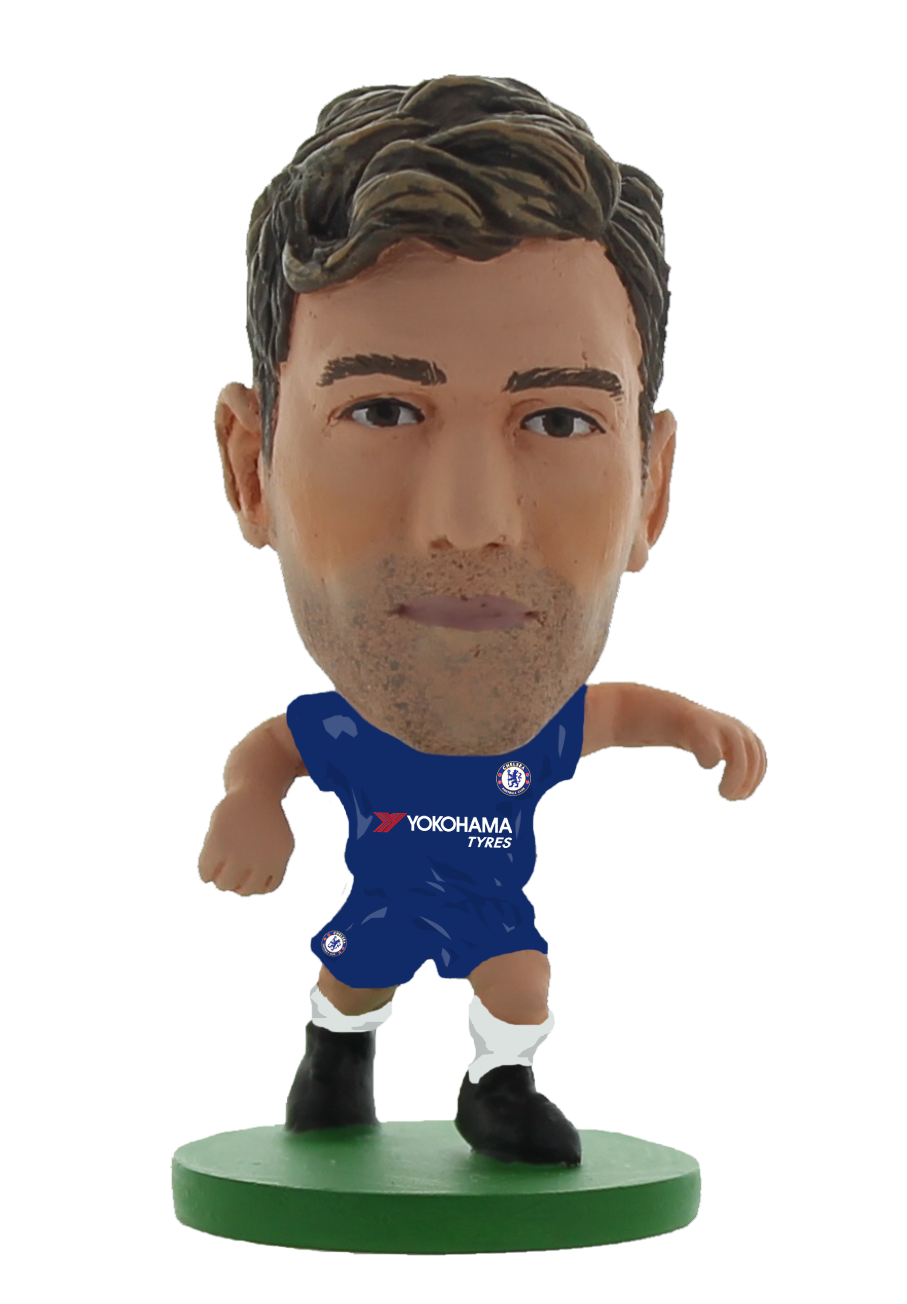 Soccerstarz - Chelsea Marcos Alonso - Home Kit (2020 version)