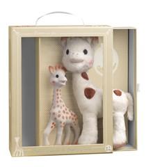 Vulli - Sophie la Girafe + Sophie Cherie - Gavesæt