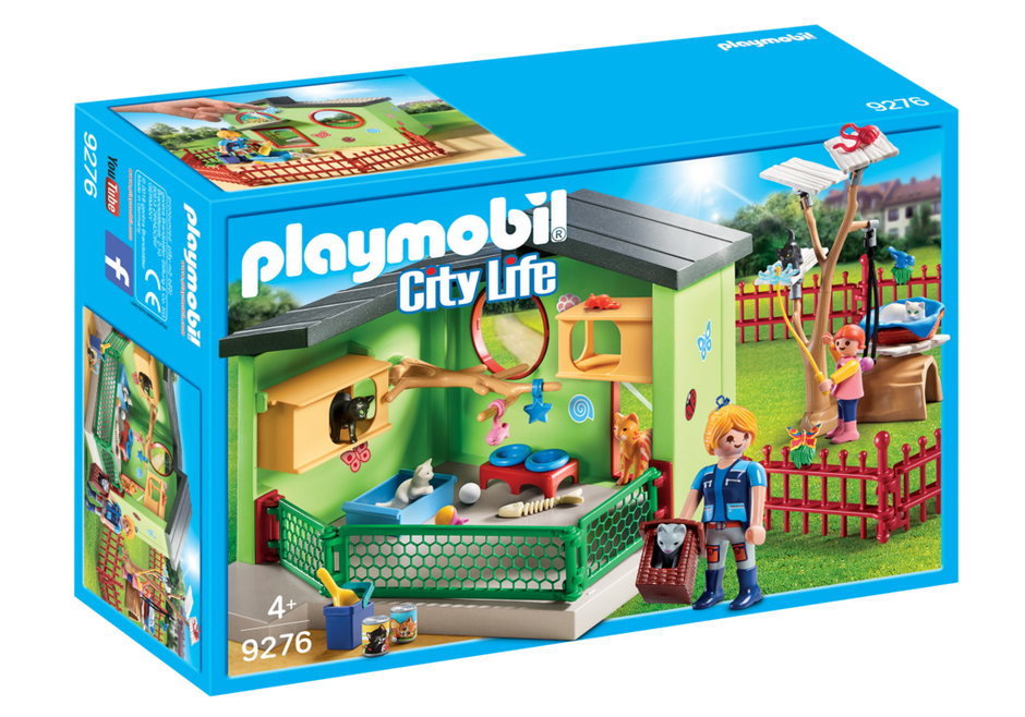 Playmobil - Purrfect Stay Cat Boarding (9276)