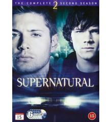 Supernatural: Sæson 2 - DVD