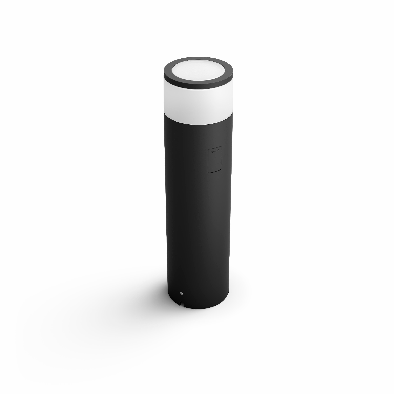 Philips Hue - Calla Große Outdoor Sockellampe  mit niedriger Spannung - Weiß & Farbe Ambiance