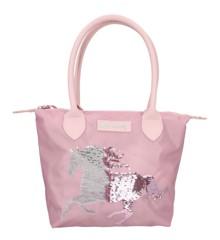 Miss Melody - Håndtaske m/Pailletter - Rosa