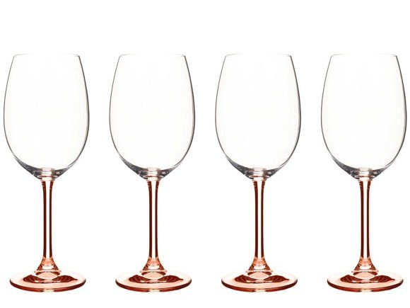 Bitz -  Wine Glasse 45 cl 4 pcs - Rose (911946)