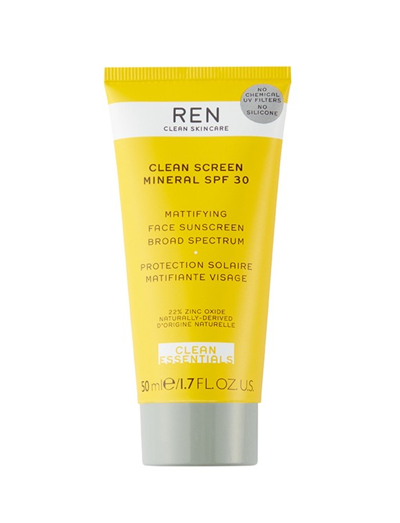 REN - Clean Screen Mineral Mattifying Sunscreen SPF30 50 ml