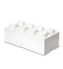 Room Copenhagen - LEGO Opbevaringskasse Brick 8 - Hvid