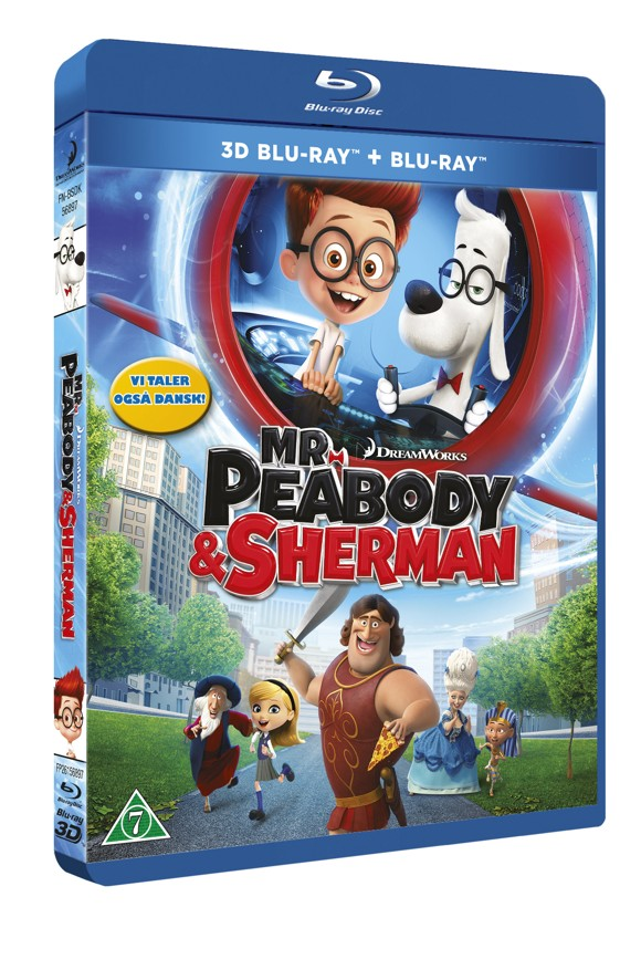 Mr. Peabody & Sherman (3D Blu-Ray)
