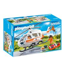Playmobil - Redningshelikopter (70048)