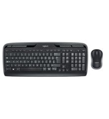 Logitech - Wireless Combo MK330 Mouse + Keyboard