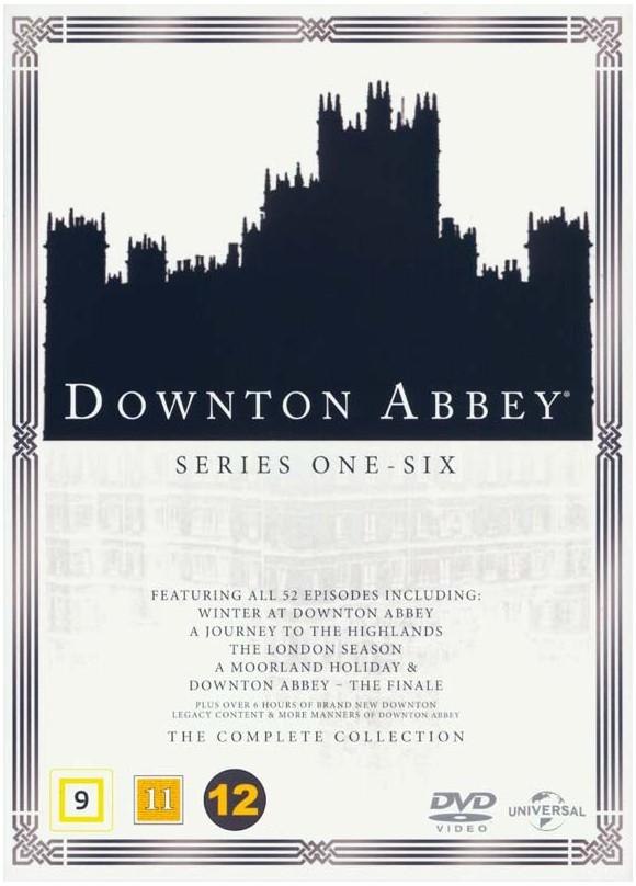 Downton Abbey: Complete Box - Season 1-6 - DVD