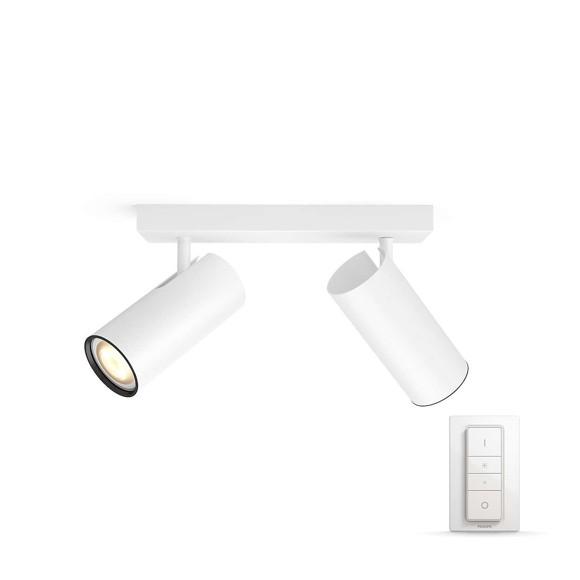 Philips Hue - Buratto 2-Spot Incl. Remote White