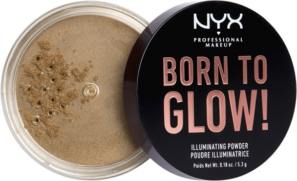 NYX Professional Makeup - Born To Glow Illuminating Powder - Ultra Light Beam