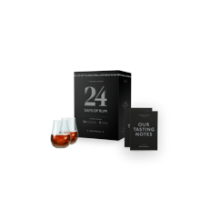 Rom Kalender - 24 Days Of Rum 2019 inkl. Glas