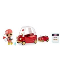 L.O.L. Surprise - Furniture with Doll -  Cozy Coupe med  M.C. Swag