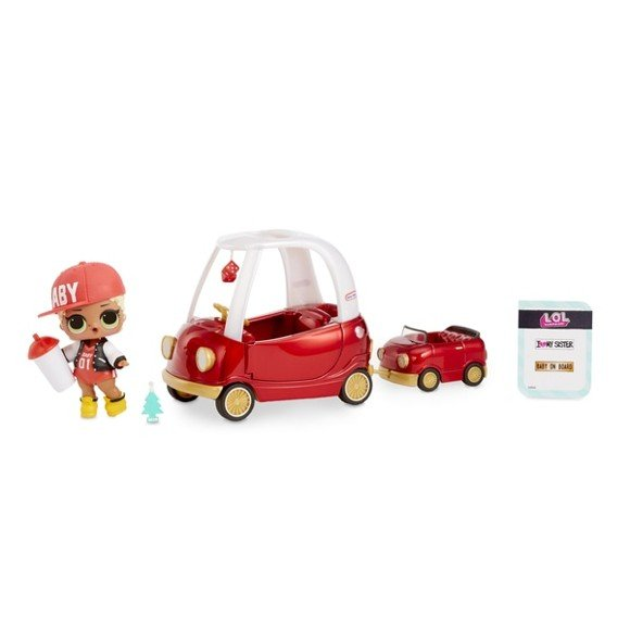 L.O.L. Surprise - Furniture with Doll -  Cozy Coupe with M.C. Swag