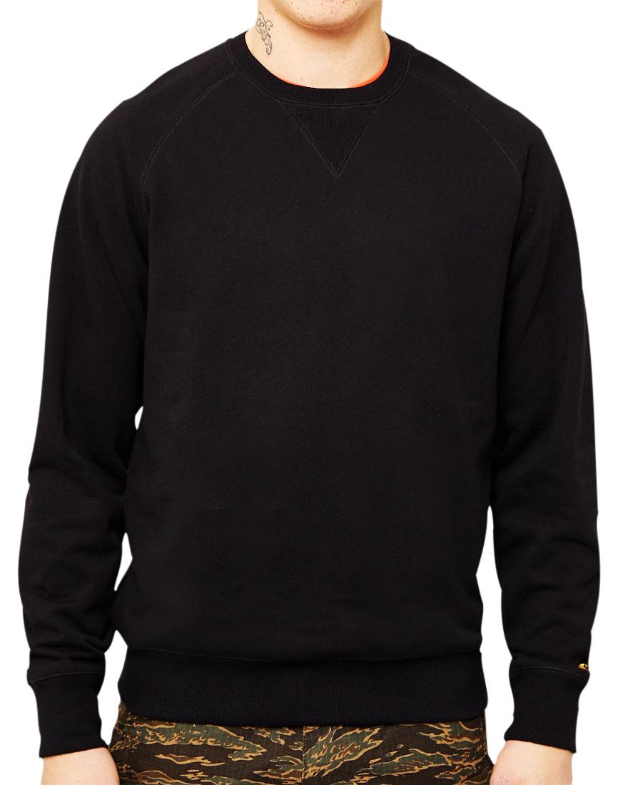 Køb Carhartt WIP Chase Sweatshirt Black