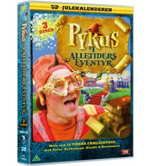 Pyrus i Alletiders Eventyr (3-disc) - DVD