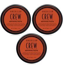 American Crew - 3x Defining Paste Voks 85 gr.