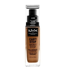 NYX Professional Makeup - Can't Stop Won't Stop Foundation - Almond