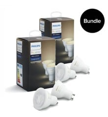 Philips Hue - 2xDoppelpack GU10 - White Ambiance - Neue Bluetooth Edition - Bundle