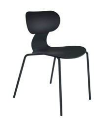 Muubs - Dining Chair Yogo-S - Black (8020000309)