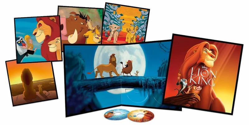 Disney´s The lion king - Blu ray -(Big sleeve edt)