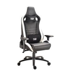 DON ONE - Gambino Gaming Chair Black/White/Carbon