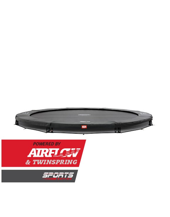 BERG - InGround Champion 380 Airflow Trampoline - Grey (Sport) (35.42.53.01)