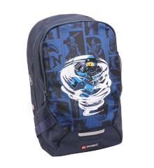 LEGO - School Backpack - Ninjago - Spinjitzu Jay (10048-2009)