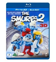 The Smurfs 2/Smølferne 2 (3D Blu-Ray)