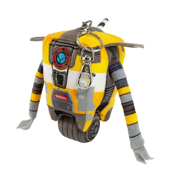 Borderlands 3 Claptrap Keyring Plush
