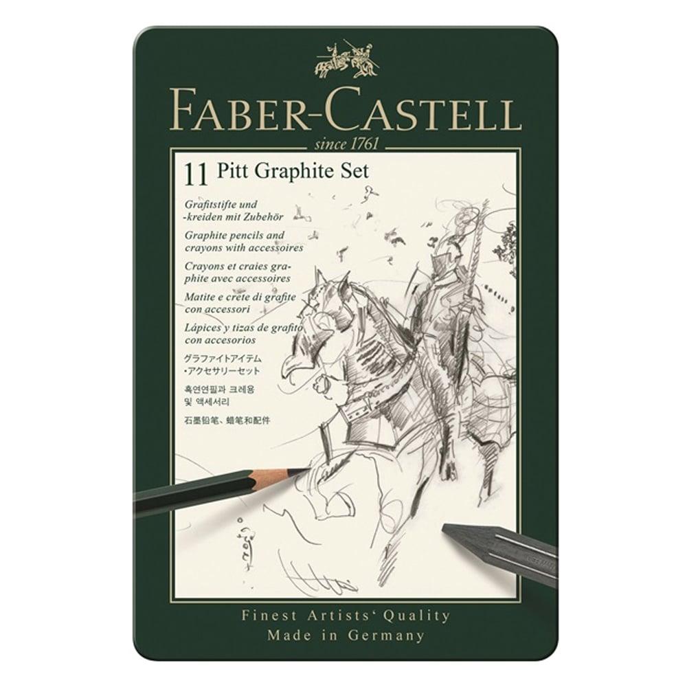 Faber-Castell - Set Pitt Graphite klein Metalletui