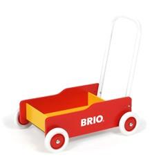 BRIO - Gåvogn, Rød (31350)