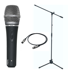 Proel - DM220 - Dynamic Vocal Microphone Bundle