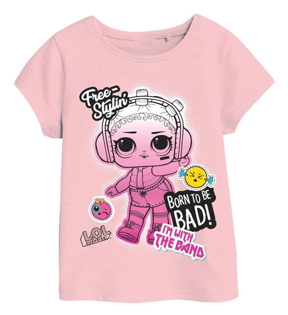 L.O.L. Surprise Girls Tee Pink 5-6