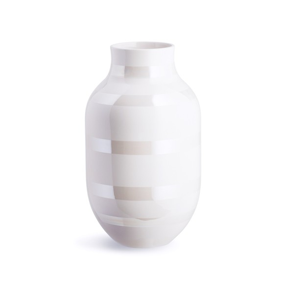 Kähler - Omaggio Vase Large - Pearl (691782)