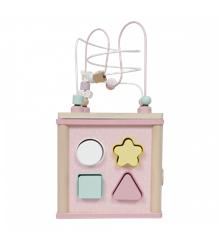 Little Dutch - Spielwürfel Holz, Pink (4427)