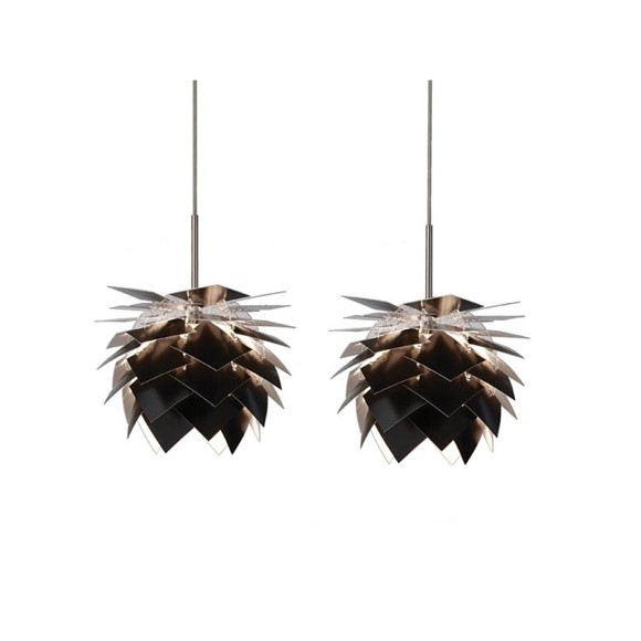 Dyberg-Larsen - Pineapple Lamp G9 XS Set Ø 18 cm - Black (6155)