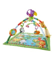 Fisher Price - Rainforest Musical and Lights Deluxe Gym (DFP08)