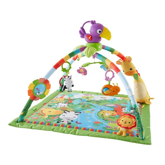 Fisher-Price - Rainforest Musical and Lights Deluxe Gym (DFP08)